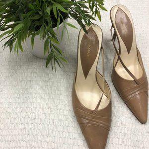 BCBG MaxAzria Leather Strappy Stilettos - 8.5